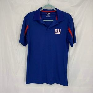 NFL Size Small Blue/Red NY Giants Polo